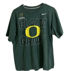 "Nike Oregon Ducks ""Claim The Game"" Crew Neck Shirt"